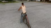 Penny-Farthing Ordinary Bicycle для GTA San Andreas миниатюра 3