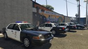 1999 Ford Crown Victoria LAPD for GTA 5 miniature 5