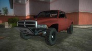 Dodge Ram Prerunner for GTA Vice City miniature 1