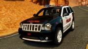 Jeep Grand Cherokee SRT8 2008 Police [ELS] for GTA 4 miniature 1