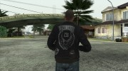 Johnny Klebitz From GTA V (With normal head) for GTA San Andreas miniature 2