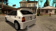 Lancia Delta HF Integrale Evoluzione II for GTA San Andreas miniature 14