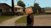 Bot Fan Mask From The Sims 3 для GTA San Andreas миниатюра 6