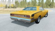 Dodge Coronet Super Bee (WM21) 1969 for BeamNG.Drive miniature 2