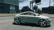 Audi TT 2007 quattro Sport for GTA 4 miniature 5