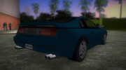 Nissan 300ZX for GTA Vice City miniature 3