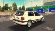 Volkswagen Golf 3 ABT VR6 Turbo Syncro for GTA 3 miniature 3
