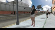 Female Player Animations PED.IFP для GTA San Andreas миниатюра 5
