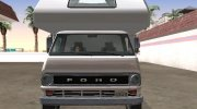 Ford Econoline E-200 1973 Motorhome for GTA San Andreas miniature 16