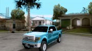 Ford F-150 2013 for GTA San Andreas miniature 1