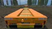 FSMT Heavy transport low loader trailer for Farming Simulator 2015 miniature 3