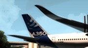 Airbus A350-941 XWB - Airbus House Colors для GTA San Andreas миниатюра 7