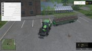 Joskin Wago Trailed 10m Autoloader v 1.0 for Farming Simulator 2015 miniature 8