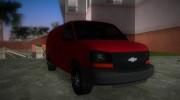 Chevrolet Express Cargo 2005 for GTA Vice City miniature 2