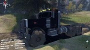 Peterbilt 379 v1.1 black for Spintires 2014 miniature 1