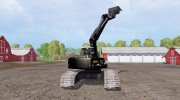 Liebherr A 900 C Litronic Apache for Farming Simulator 2015 miniature 2