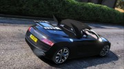 Audi R8 Spyder for GTA 5 miniature 2