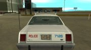 Ford LTD Crown Victoria 1987 Chicago Police Department for GTA San Andreas miniature 8