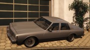 Chevrolet Impala 1985 for GTA 5 miniature 2