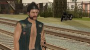 Biker from GTA Online для GTA San Andreas миниатюра 6