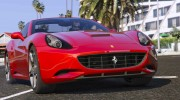 2012 Ferrari California BETA for GTA 5 miniature 1