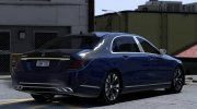2018 Mercedes-Maybach S650 for GTA 5 miniature 4