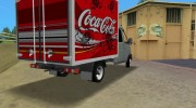 ГАЗель 33023 Coca-Cola for GTA Vice City miniature 3