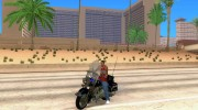 Harley Davidson CHP (Beta) for GTA San Andreas miniature 1