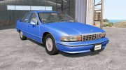 Chevrolet Caprice Classic 1991 for BeamNG.Drive miniature 1