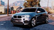 BMW X6M F16 Final for GTA 5 miniature 1