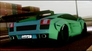 2005 Lamborghini Gallardo Liberty Walk LB Performance for GTA San Andreas miniature 3