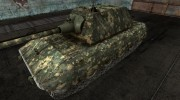 Шкурка для E-100 Digital Camo для World Of Tanks миниатюра 1