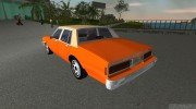 Chevrolet Caprice 1986 for GTA Vice City miniature 4