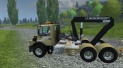 Mercedes-Benz Unimog crane devices Trailer for Farming Simulator 2013 miniature 3