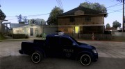 Toyota Hilux Somaliland Police для GTA San Andreas миниатюра 5