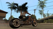 Harley Davidson fatboy Racing Bobber for GTA San Andreas miniature 2