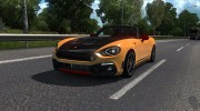 Fiat 124 Spider for Euro Truck Simulator 2 miniature 1