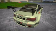 BMW M3 GT2 for GTA Vice City miniature 2