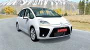 Citroen C4 Picasso 2010 for BeamNG.Drive miniature 1