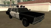 Plymouth Belvedere SW 1965 LAPD for GTA San Andreas miniature 2