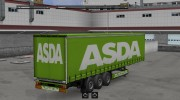 ASDA trailer for Euro Truck Simulator 2 miniature 1