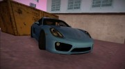 Porsche Cayman S 2014 for GTA Vice City miniature 1