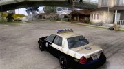 Ford Crown Victoria Florida Police for GTA San Andreas miniature 3