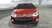 Citroen C4 Coupe Beta для GTA 4 миниатюра 6