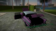Chevrolet Bel Air 1957 for GTA Vice City miniature 6