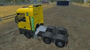 MAN TGS with Strobe Light v 2.5 для Farming Simulator 2013 миниатюра 3