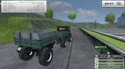 Unimog U 84 406 Series и Trailer v 1.1 Forest for Farming Simulator 2013 miniature 11