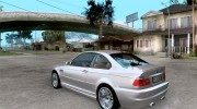 BMW M3 e46 for GTA San Andreas miniature 3
