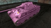 Шкурка для Pink Panther II для World Of Tanks миниатюра 1