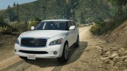 Infiniti QX56 for GTA 5 miniature 3
